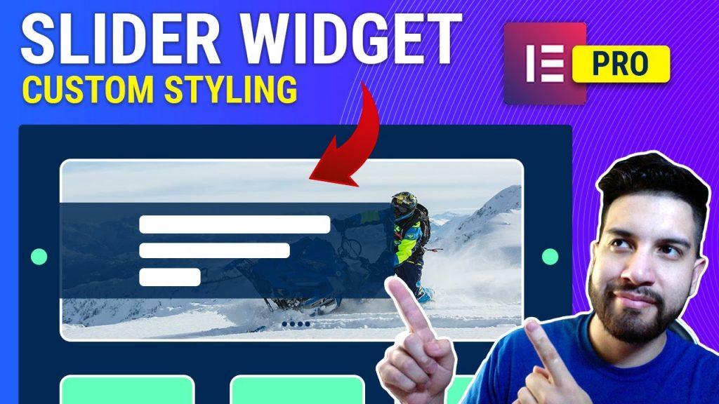 Elementor Pro Slider Widget Custom Styling