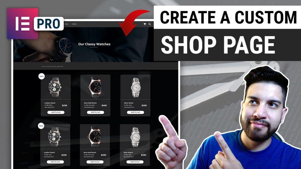 Elementor Pro Shop Page Tutorial Ele Custom Skin Custom Woocommerce Shop