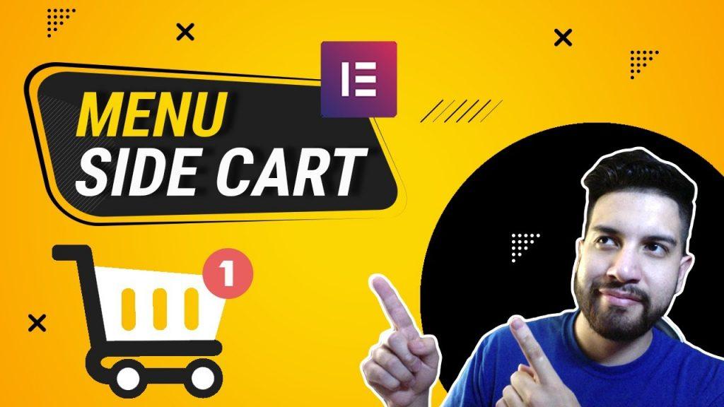 Elementor WooCommerce Menu Side Cart