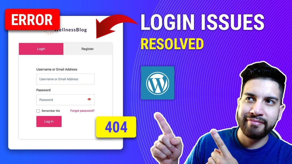 How To Fix Custom Login Form Issues On Wordpress Or Elementor
