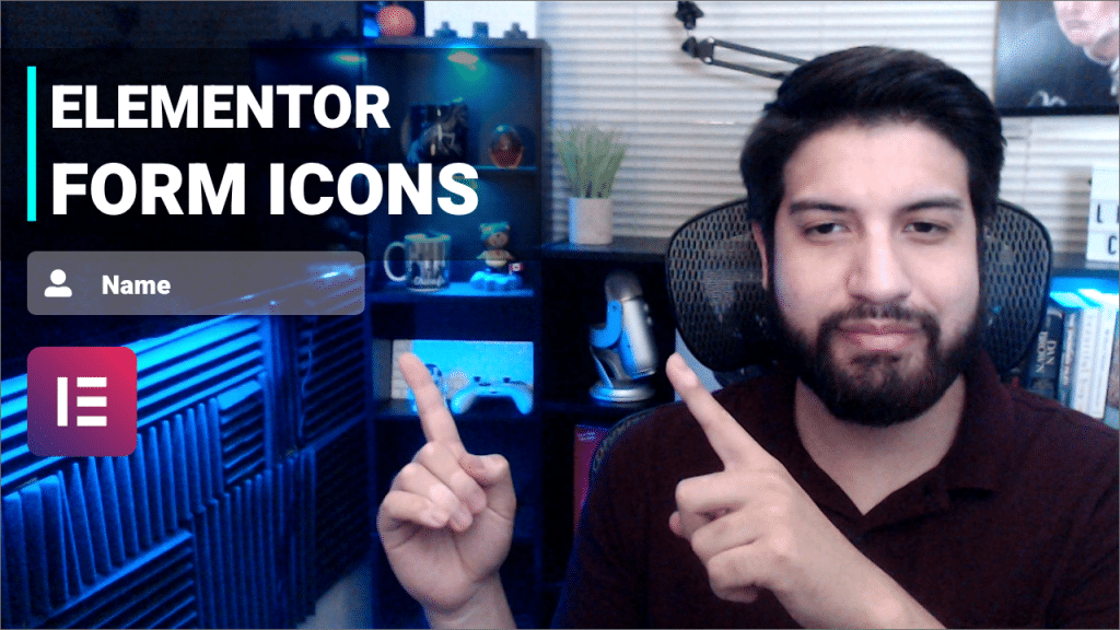 elementor icon form css