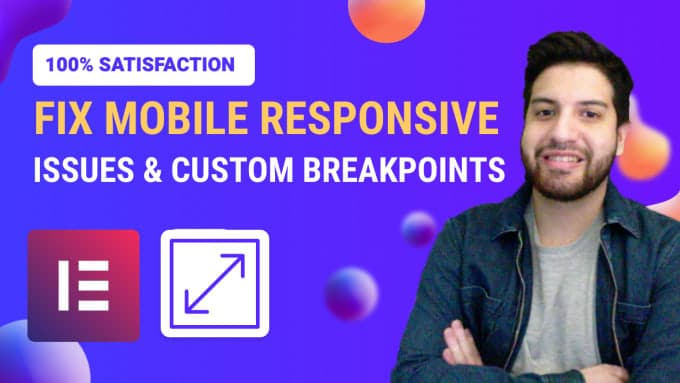 fix elementor mobile responsive issues and breakpoints